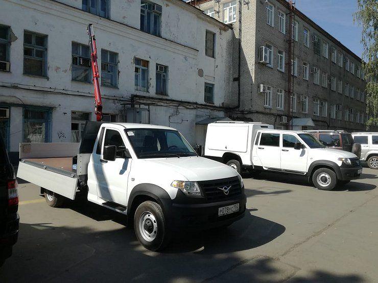 Семь новых версий УАЗ «Профи»