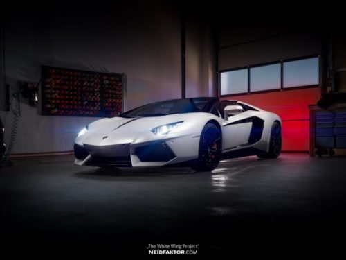 Тюнинг салона Lamborghini Aventador
