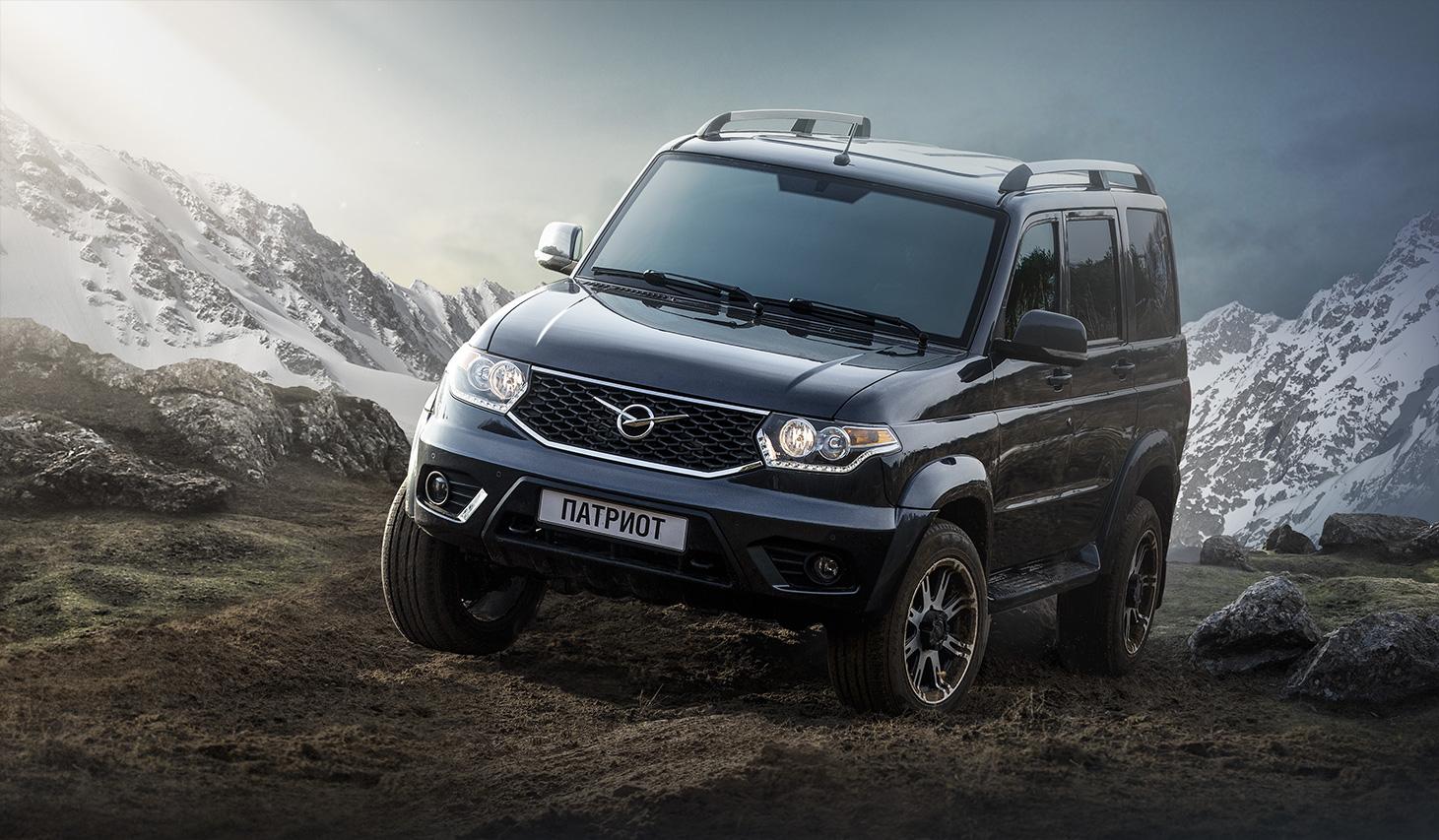 Новый УАЗ Патриот будет с нержавеющим кузовом и новым мотором