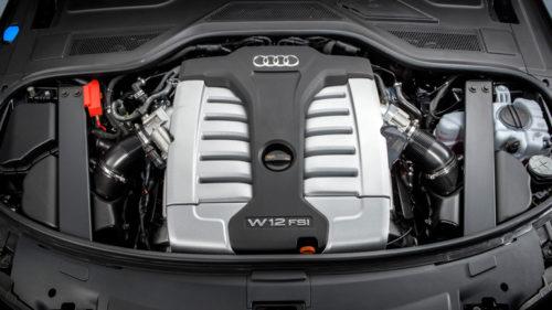 W-образный двигатель