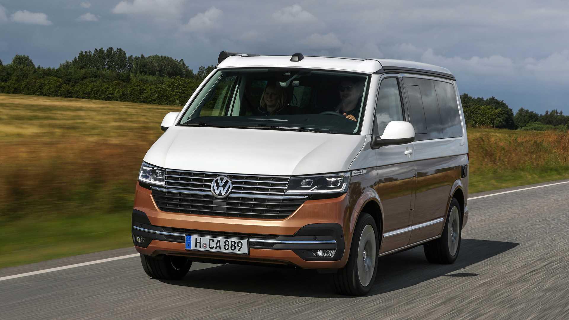 Обновленный кемпер Volkswagen California