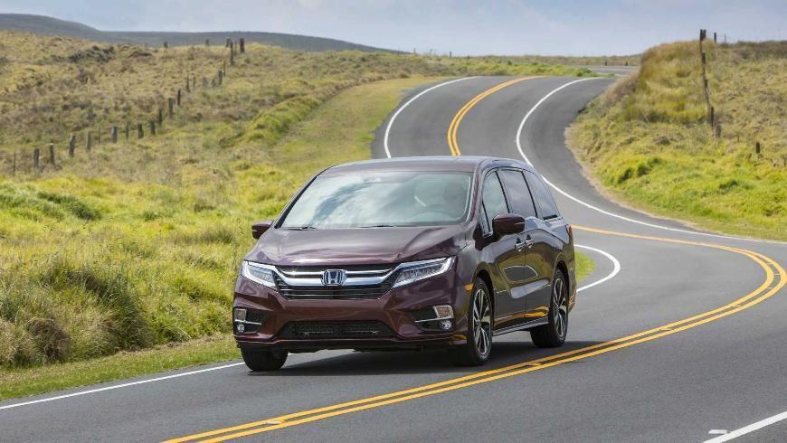 Юбилейная версия минивэна Honda Odyssey