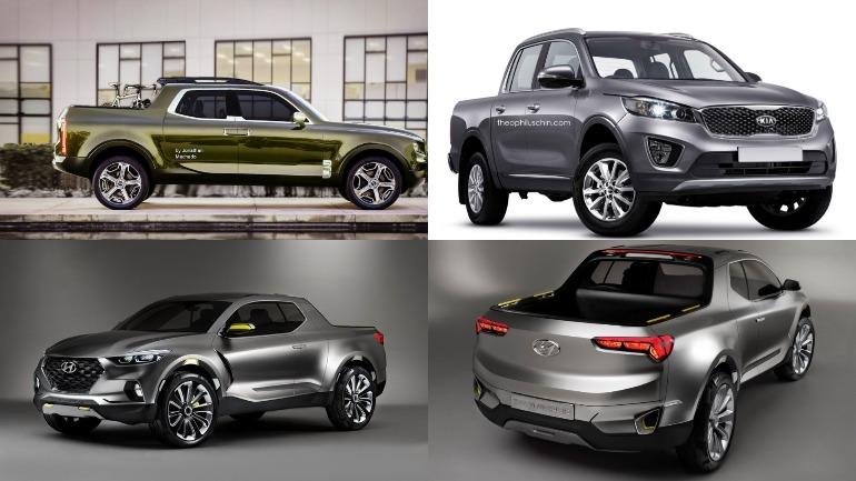Новые пикапы Hyundai и Kia