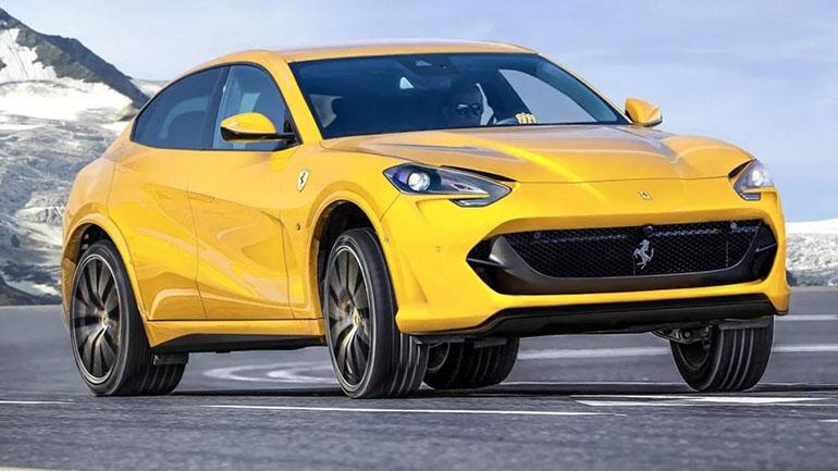 Новый внедорожник Ferrari Purosangue