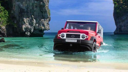 Амфибия Toyota Land Cruiser