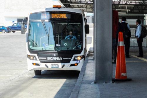 Автобусы Scania перевели на газ