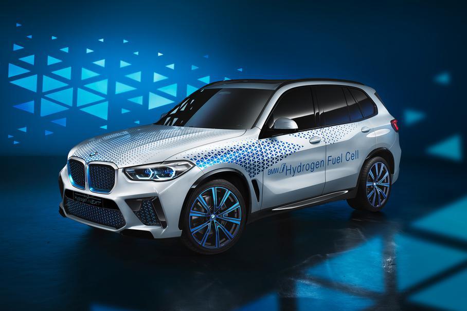 BMW X5 работает на водороде