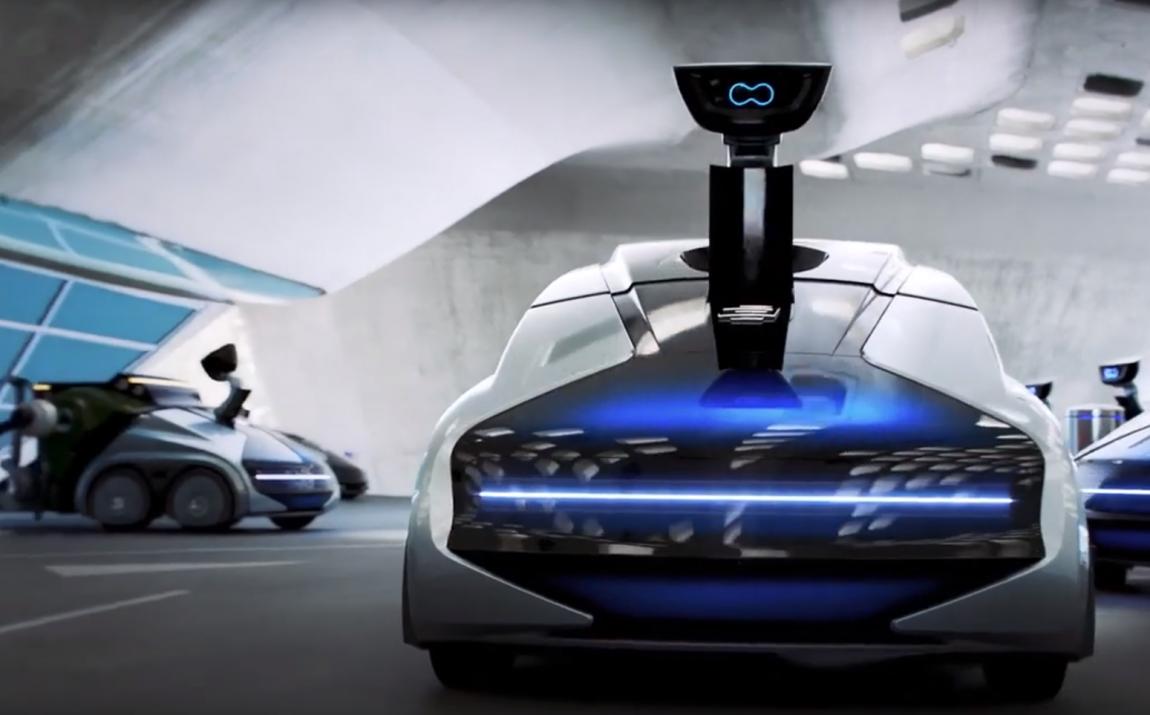 Беспилотная транспортная система CityBot