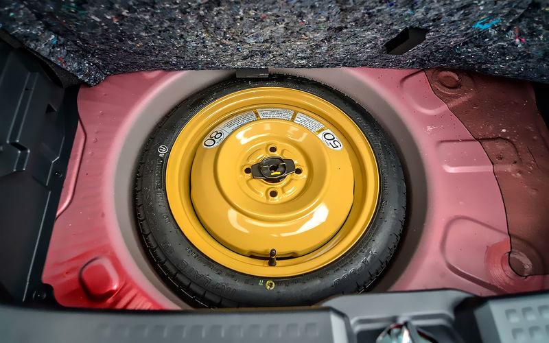 Докатка или нормальное запасное колесо