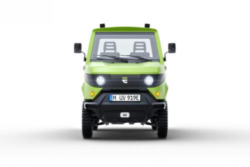 Электрический двухмоторный мини-грузовик aCar