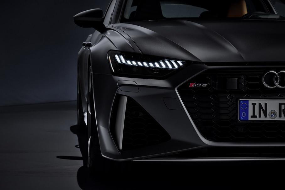 Электрификация мощных версий Audi RS