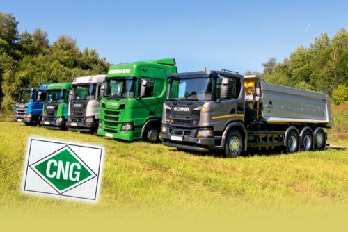 Газовые грузовики Scania
