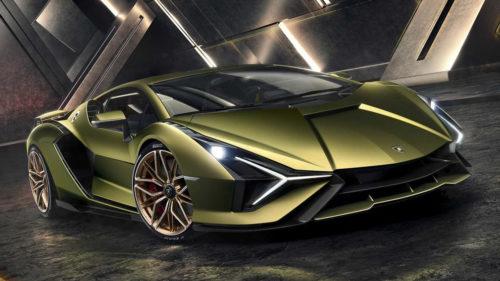 Гибридный суперкар Lamborghini Sian