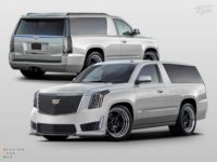 Купе-версии Cadillac Escalade-V и Chevrolet Tahoe SS