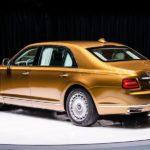 Лимузин Aurus Senat предложен только в бронированном исполнении