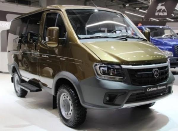 Модернизированный внедорожник ГАЗ «Соболь 4х4»