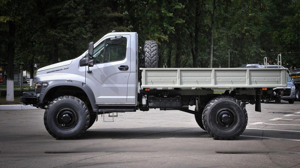 Новый полноприводной грузовик «Садко Next» — наследник легендарного ГАЗ-66 «Шишига»
