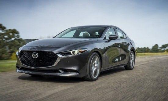 Новый седан Mazda 3