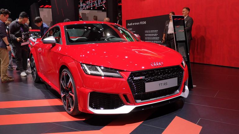 Обновленный Audi TT RS