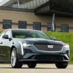 Обновленный седан Cadillac CT4