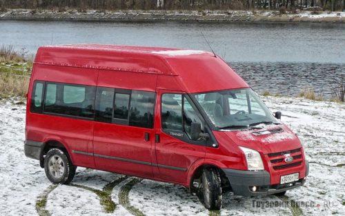 Офис на колесах Ford Transit Combi Trend AWD