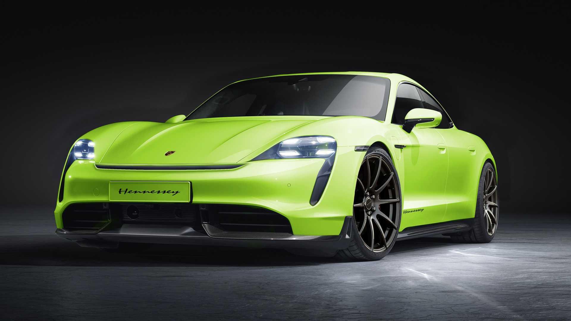 Первый тюнинг Porsche Taycan