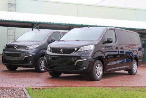 Полноприводные Peugeot Expert и Citroen Jumpy из Калуги