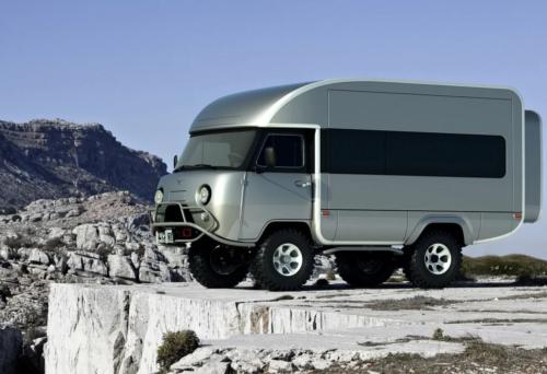 Предполагаемый вид УАЗ-452 Буханки при обновлении её дизайна