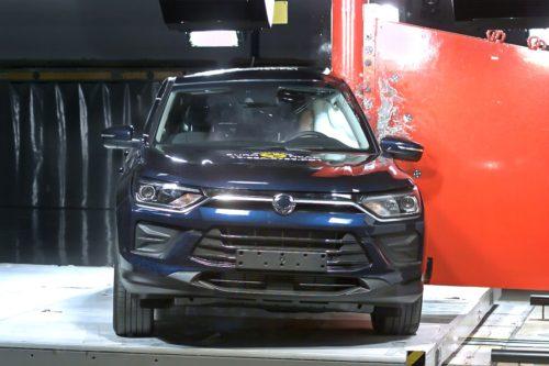 Пять звезд кроссовера SsangYong в Euro NCAP