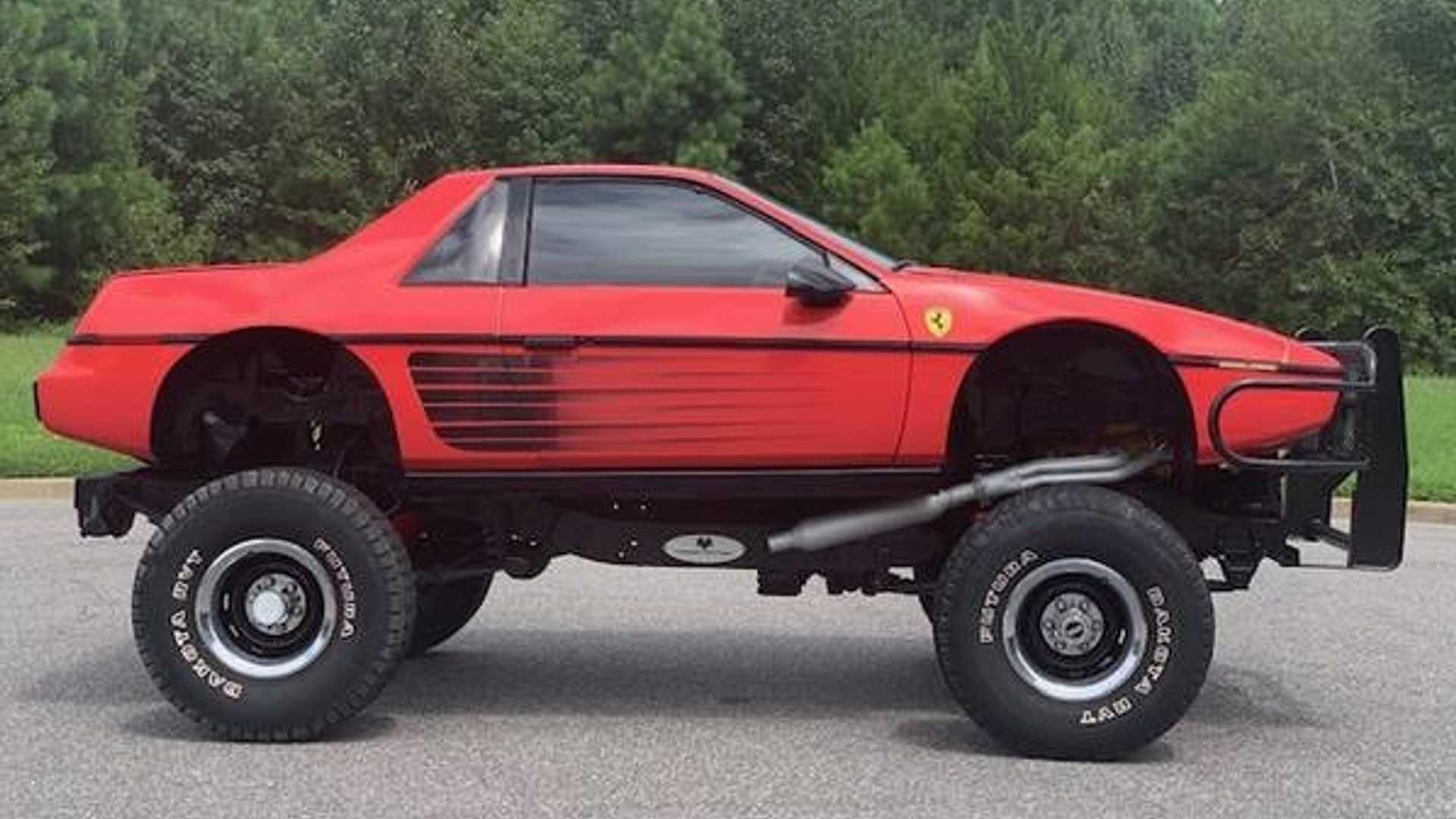 Самодельный внедорожник «Ferrari»