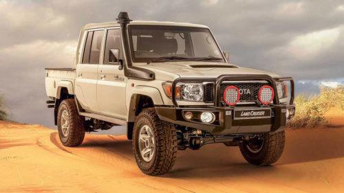 Toyota для серьезного бездорожья Land Cruiser 70