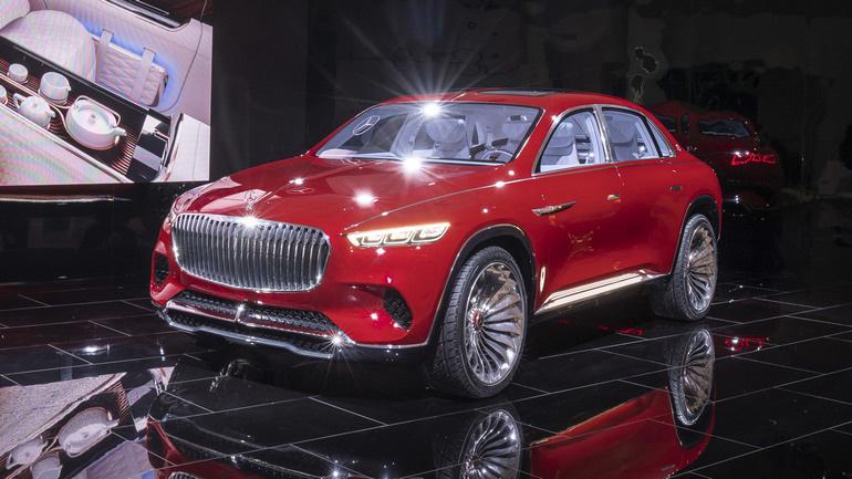 Внедорожник Mercedes-Maybach