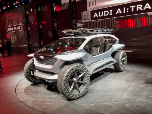 Внедорожники будущего — версия Audi