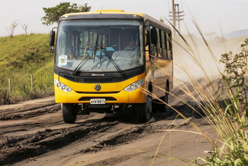 Автобусы Volkswagen для бразильских школьников
