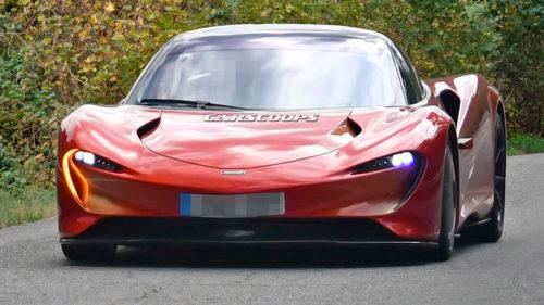 Быстрейший суперкар McLaren на общей дороге