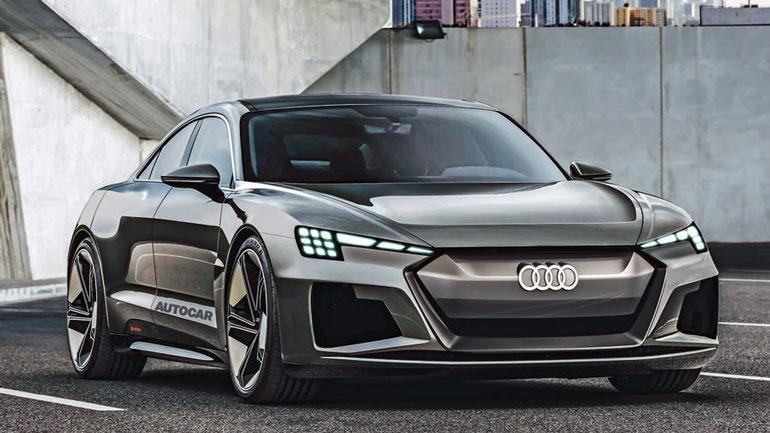 Четырехдверное электрическое купе Audi