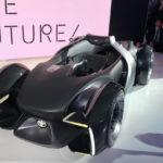 Двухместный беспилотный Toyota e-Racer