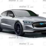 Электрический внедорожник Ford Mustang