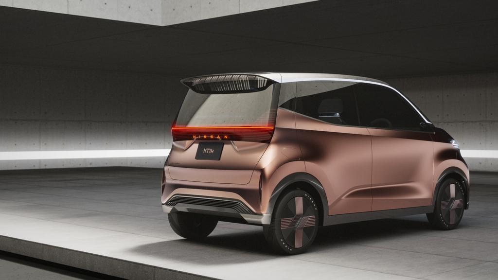 Электромобиль Nissan IMk для урбанистов