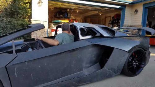 Фанат Lamborghini напечатал Aventador на 3D-принтере