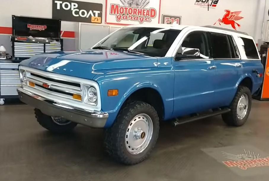 Гибрид Chevrolet Tahoe и Chevrolet Blazer