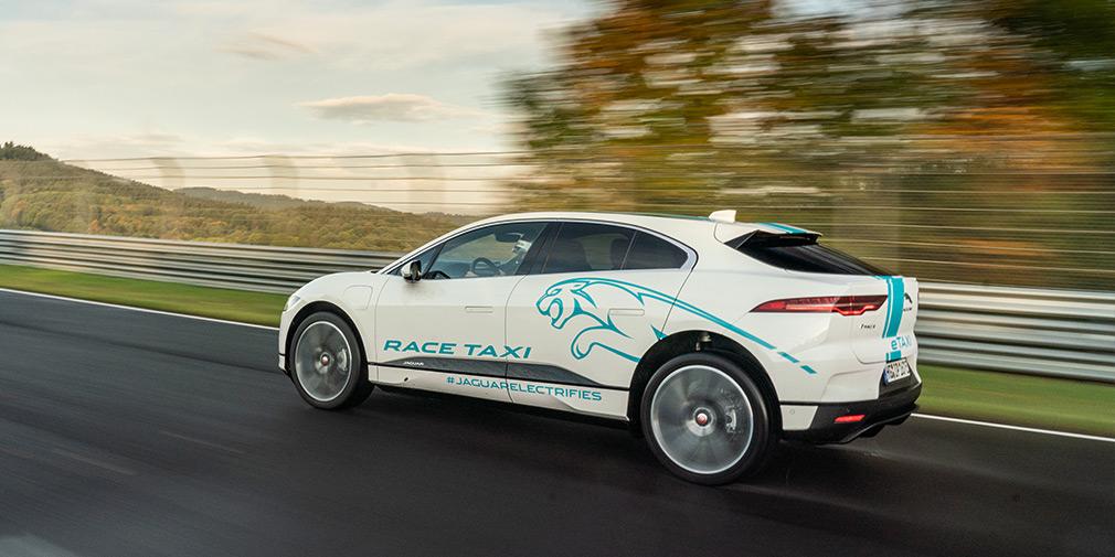 Гоночное такси Jaguar I-Pace