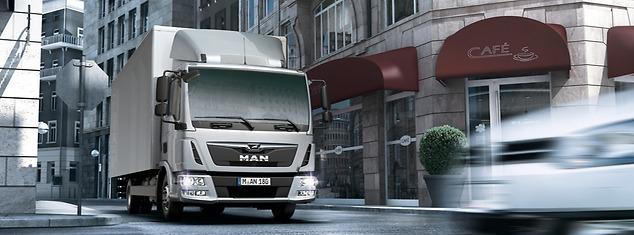 Городской грузовик MAN TGL