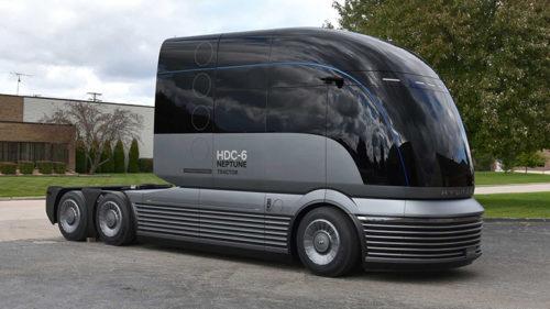 Грузовик Hyundai HDC-6 Neptune на водороде