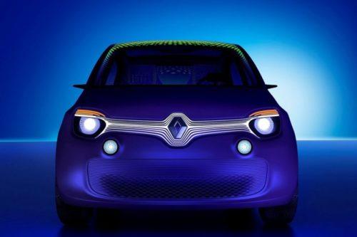 Компактный электромобиль Renault Twingo