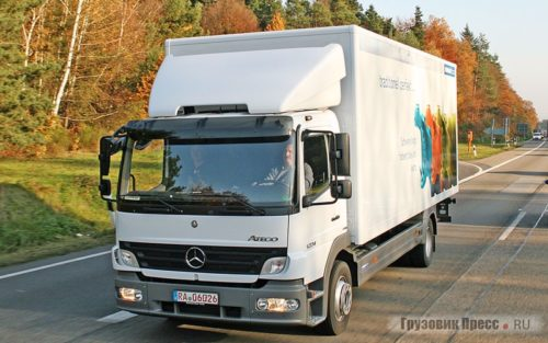 Легкий грузовик Mercedes-Benz Atego