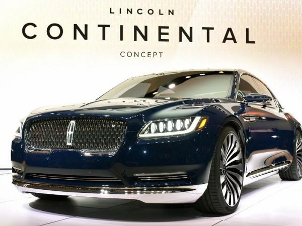 Lincoln Continental с «суицидальными» дверями