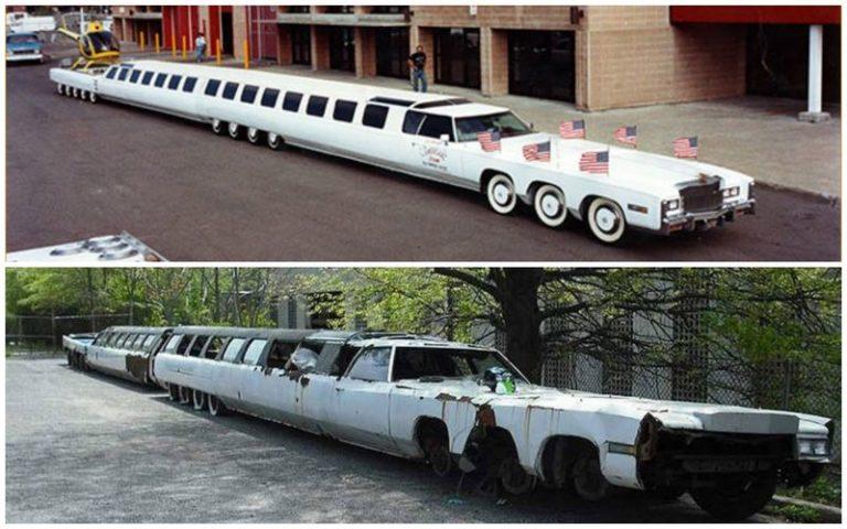Найден самый длинный лимузин