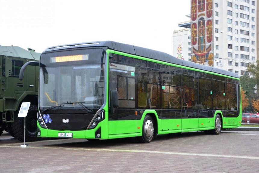 Новый белорусский электробус