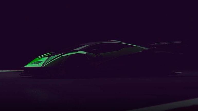 Новый гоночный суперкар Lamborghini